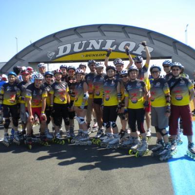 24H  du Mans Roller 2010