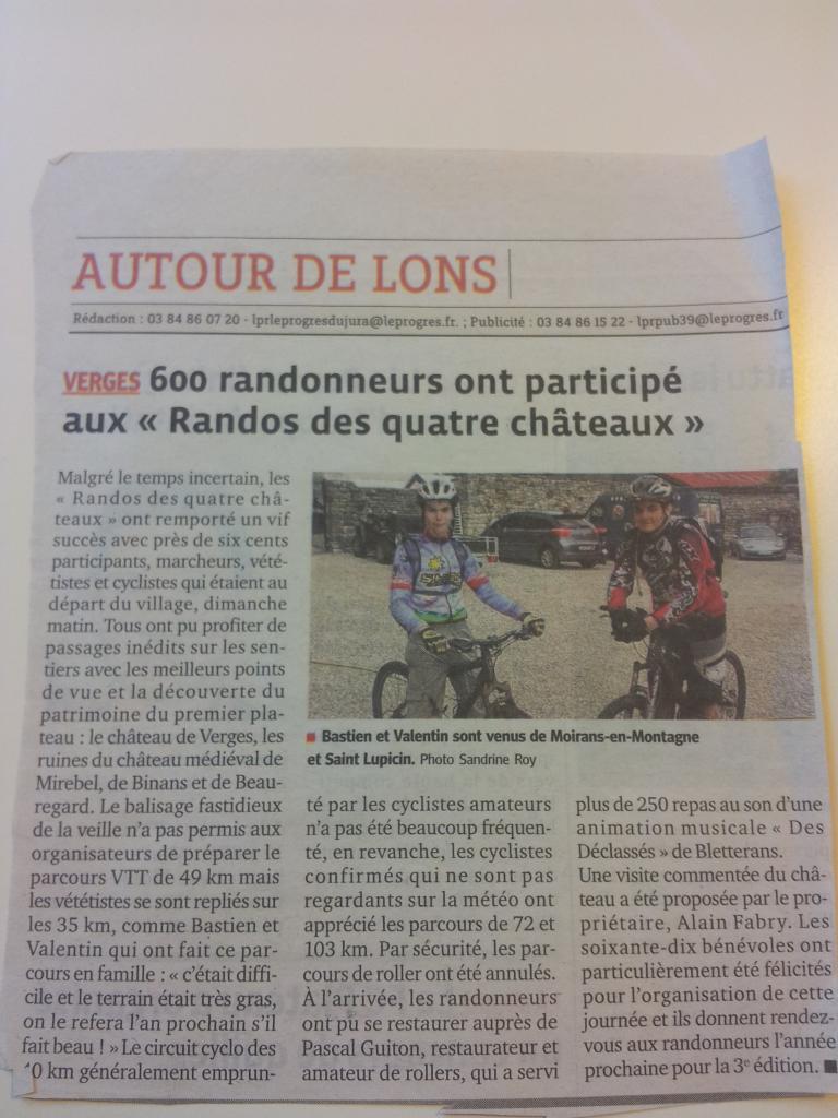 Article presse
