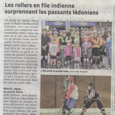 article Progrès soirée roller in Lons